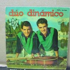 Discos de vinilo: DUO DINAMICO - BAILANDO TWIST / PERDONAME + 2 - LA VOZ DE SU AMO 1962. Lote 30874549
