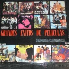 Discos de vinilo: BEATLES ORQUESTAL PORTADA PALOBAL ESPAÑA 1971 COLECCION SUBMARINO AMARILLO. Lote 30881594