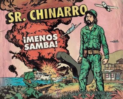 2LP SR. CHINARRO MENOS SAMBA VINILOS + CD (Música - Discos - LP Vinilo - Grupos Españoles de los 90 a la actualidad)