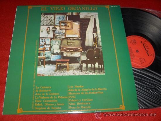 EL VIEJO ORGANILLO ANTONIO APRUZZESE LP 1981 PUZZLE (Música - Discos - LP Vinilo - Clásica, Ópera, Zarzuela y Marchas)