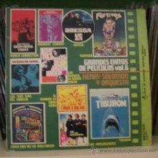 Discos de vinilo: GRANDES EXITOS DE PELICULAS 6 - HENRY SALOMON, FURTIVOS, ODESSA, MIDNIGHT COWBOY, TIBURON..... Lote 30897063