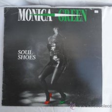 Discos de vinilo: DISCO VINILO MONICA GREEN - SOUL SHOES -.. Lote 30897434