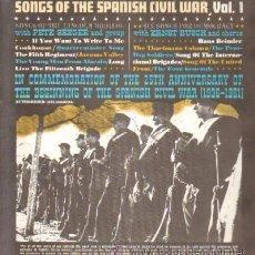 Discos de vinilo: SONGS OF THE SPANISH CIVIL WAR VOL 1 - 2 VOLUMENES D-VARIOS-493. Lote 30899795