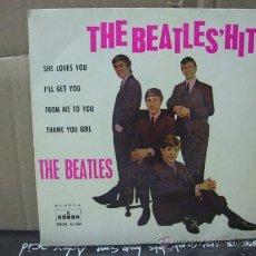 Discos de vinilo: THE BEATLES - SHE LOVES YOU / I'LL GET YOU + 2 - EDICION ESPAÑOLA - ODEON 1963. Lote 30899951