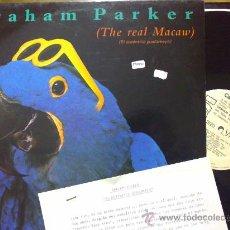 Discos de vinilo: GRAHAM PARKER - THE REAL MACAU - LP PROMOCIONAL. Lote 30903278