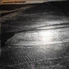 Discos de vinilo: JOAQUÍN DÍAZ: CANCIONES DEL CAMPO (LP DE 1974). Lote 30903677