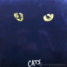 Discos de vinilo: CATS LP Y LIBRETO BANDA SONORA ORIGINAL 1981 WEST END LONDRES. Lote 30906711