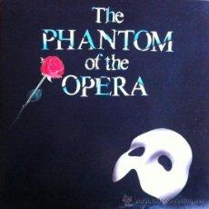 Discos de vinilo: EL FANTASMA DE LA OPERA LP BANDA SONORA ORIGINAL 1987 WEST END LONDRES. Lote 30906752