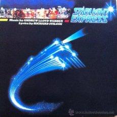 Discos de vinilo: THE STARLIGHT EXPRESS LP BANDA SONORA ORIGINAL 1984 WEST END LONDRES. Lote 30906896