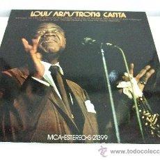 Discos de vinilo: LOUIS ARMSTRONG CANTA - LP 1971 - MCA - 12 CANCIONES - VER DETALLE. Lote 30908211