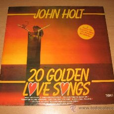 Discos de vinilo: LP JOHN HOLT – 20 GOLDEN LOVE SONGS -TROJAN RECORDS 1980 ENGLAND. Lote 30916879