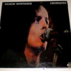 Discos de vinilo: RAMON MUNTANER - CRONIQUES - MOVIE PLAY - 1977. Lote 34905066