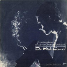 Discos de vinilo: THE STYLE COUNCIL - MY EVER CHANGING MOODS / MICK'S COMPANY (SINGLE 45 RPM) - NUEVO. Lote 30931482