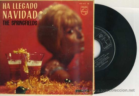 THE SPRINGFIELDS : HA LLEGADO NAVIDAD (1963) (Música - Discos de Vinilo - EPs - Pop - Rock Extranjero de los 50 y 60)