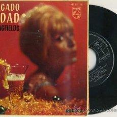 Discos de vinilo: THE SPRINGFIELDS : HA LLEGADO NAVIDAD (1963). Lote 30937264