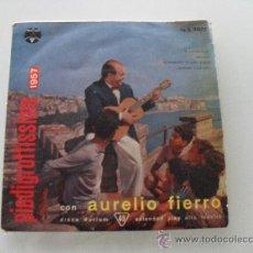 Discos de vinilo: AURELIO FIERRO - A SUNNAMBULA + 3 EP MADE IN ITALY. Lote 30942853