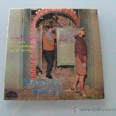 Discos de vinilo: MANUEL BASTO - CHIQUITA MORENA + 3 EP MADE IN PORTUGAL. Lote 30943016