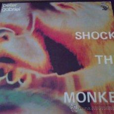 Discos de vinilo: PETER GABRIEL (GENESIS) - SHOCK THE MONKEY - MAXI SINGLE DE VINILO. Lote 30948191