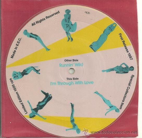 Discos de vinilo: MARILYN MONROE EP PICTURE SELLO MAYBELLENE AÑO 1987 MADE IN E,E,C, - Foto 2 - 30950621