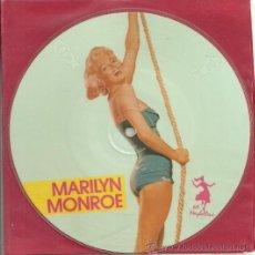 Discos de vinilo: MARILYN MONROE EP PICTURE SELLO MAYBELLENE AÑO 1987 MADE IN E,E,C,. Lote 30950660
