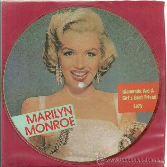 Discos de vinilo: MARILYN MONROE EP PICTURE SELLO MAYBELLENE AÑO 1987 MADE IN E,E,C, - Foto 2 - 30950697