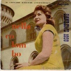 Discos de vinilo: NELLA COLOMBO - TUA + 3 EP. Lote 104008955
