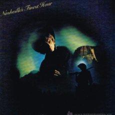Discos de vinilo: DOLLY PARTON / GEORGE HAMILTON IV / CHET ATKINS, ETC - NASHVILLE'S FINEST HOUR - LP 1980 . Lote 30960329