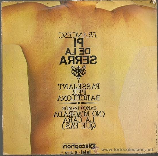 Discos de vinilo: Francesc Pi de la Serra. BCN : Discophon, 1970. 45 rpm - Foto 2 - 31023171