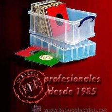 Discos de vinilo: CAJA PROFESIONAL PARA GUARDAR Y TRANSPORTAR 110 / 125 SINGLES 7. Lote 195447062