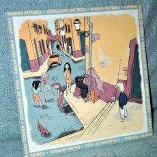 Discos de vinilo: RADIO FUTURA - MAXI SINGLE VINILO 12'' - CORAZÓN DE TIZA (VERSIÓN Y RAP) + 1 - ARIOLA 1990. Lote 30973861