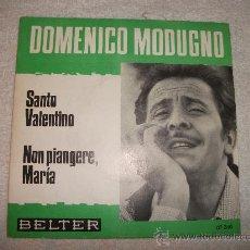 DOMENICO MODUGNO / SANTO VALENTINO / BELTER 1966