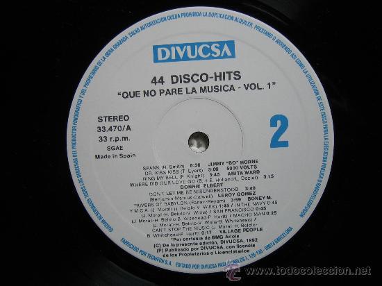 Discos de vinilo: LP QUE NO PARE LA MUSICA 1992. TRES DISCOS - Foto 5 - 30980069