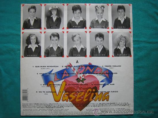 Discos de vinilo: LP LA ONDA VASELINA 1991 - Foto 4 - 30980948