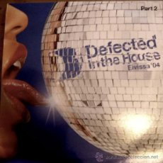 Discos de vinilo: DEFECTED IN THE HOUSE - EIVISSA 04 (PART 1) / ITH RECORDS / 2004 / 2 LPS. Lote 54549548