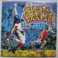 Discos de vinilo: LP SKATE BOARD 1990. DOS DISCOS. Lote 30980116
