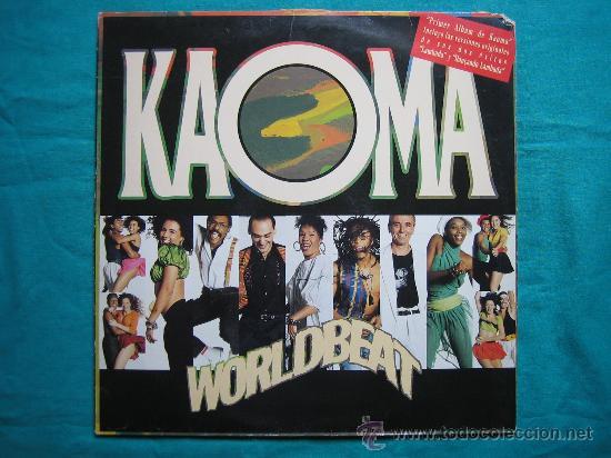 LP KAOMA 1989 (Música - Discos de Vinilo - EPs - Pop - Rock - New Wave Extranjero de los 80)