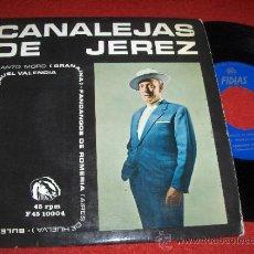 Discos de vinilo: CANALEJAS DE JEREZ FANDANGOS DE ROMERIA/BULERIAS DEL ESTRECHO/+27