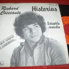 Discos de vinilo: RICHARD COCCIANTE HISTORIAS/ESTUPIDA COMEDIA 7