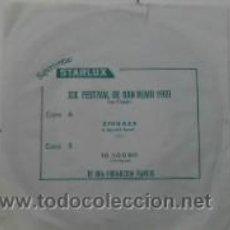 Discos de vinilo: SUPERVENTAS STARLUX, XIX FESTIVAL DE SAN REMO 1969. Lote 30987587