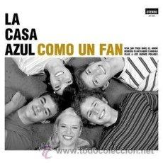 Discos de vinilo: 10PULGADAS LA CASA AZUL COMO UN FAN VINILO FAMILY NIÑO GUSANO PARADE. Lote 140725680