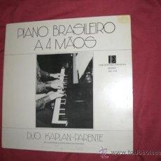 Discos de vinilo: DUO KAPLAN - PARENTE - PIANO BRASILEIRO A 4 MAOS LP MPA 0359 1977 BRAZIL . Lote 30989486