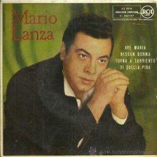 Discos de vinilo: MARIO LANZA EP SELLO RCA EDITADO EN ESPAÑA AÑO 1959. Lote 30990137