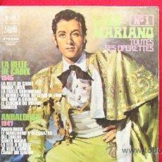Discos de vinilo: LUIS MARIANO Nº 1 - TOUTES SES OPERETES. Lote 39363423