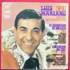 Discos de vinilo: LUIS MARIANO Nº 2 - TOUTES SES OPERETTES. Lote 39363451