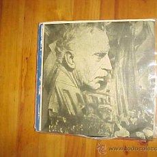 Discos de vinilo: EL PRESIDENTE FRANCESC MACIA, PROCLAMA LA REPUBLICA CATALANA 14 DE ABRIL 1931.IMPECABLE. Lote 30994114