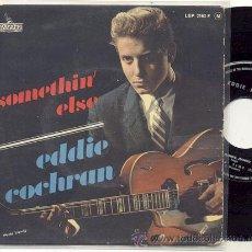 Discos de vinilo: EP 45 RPM / EDDIE COCHRAN / SOMETHIN ELSE // EDITADO POR LIBERTY. Lote 31000628