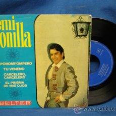 Discos de vinilo: - EMI BONILLA - EL POROMPOMPERO + 3 - BELTER 1969. Lote 31075304
