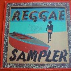Discos de vinilo: REGGAE SAMPLER - RECOPILACION DE VARIOS INTERPRETES - 2 LP - RARO. Lote 31403865