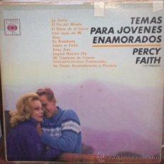 Discos de vinilo: LP URUGUAYO DE PERCY FAITH Y SU ORQUESTA AÑO 1963. Lote 30850895
