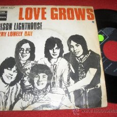 Discos de vinilo: LOVE GROWS EDISON LIGHTHOUSE / EVERY LONELY DAY 7